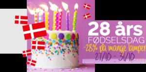 Spotlight 28 år = 28% rabat