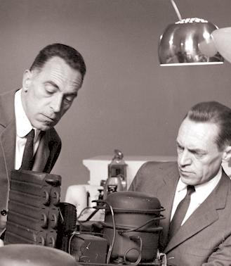 Achille og Pier Giacomo designede lamper