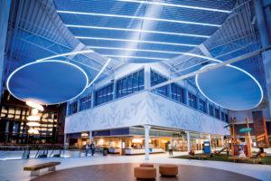 Spotlight Biz projekt, Shoppingcenter