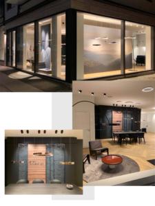 Occhio Store by Spotlight på Borggade 4 i Aarhus